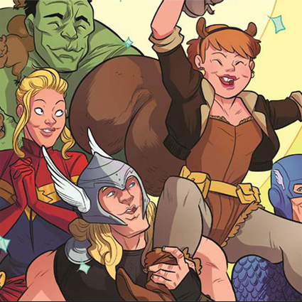 Comics - Squirrel Girl