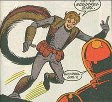 Squirrel Girl looked a bit different in 1992.
