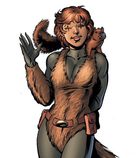 Squirrel Girl got a minor revamp in 2005.